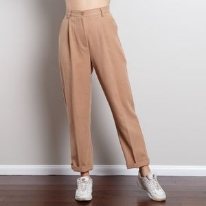 90s High Waisted Paperbag Trousers